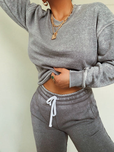 Chill Out Crewneck - Grey