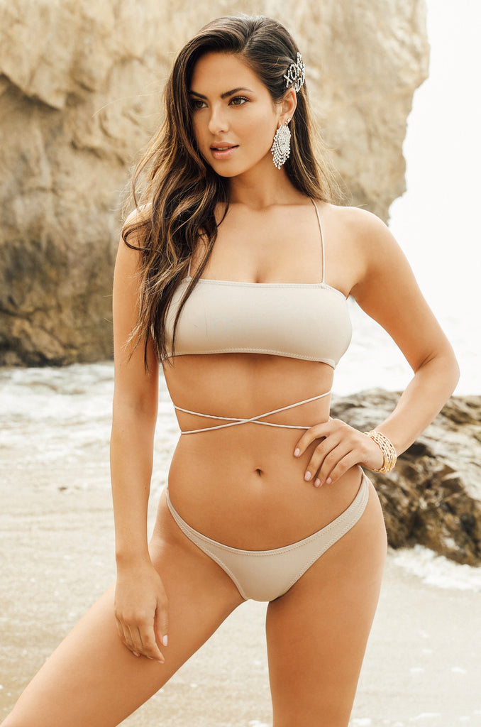 Hot N Chic Bikini Set - Nude