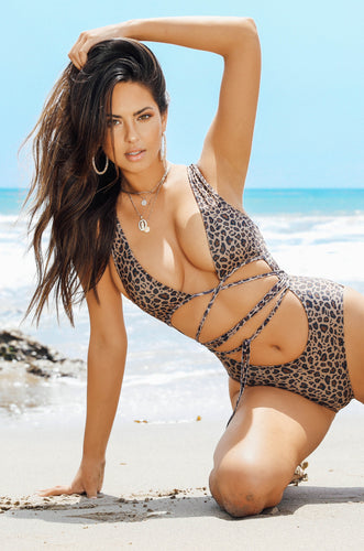 Fierce And All Swimsuit - Leopard