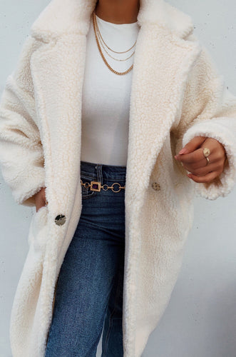 Winter Luxury Coat - White