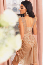 Exposed Lover Dress - Nude