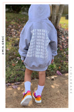 Dream It Then Real Life It Kids Hoodie - Grey