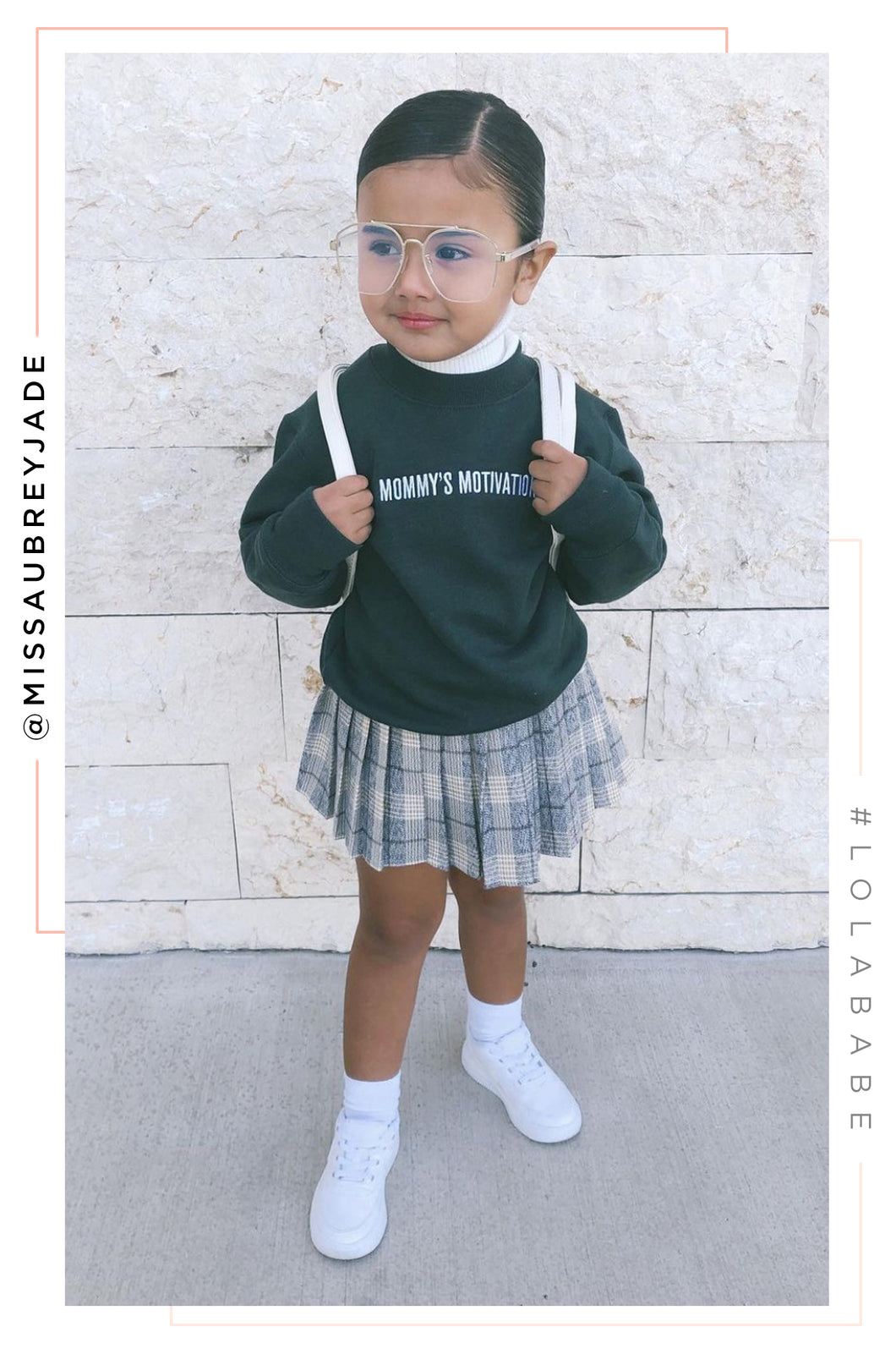 Mommy's Motivation Crewneck - Emerald