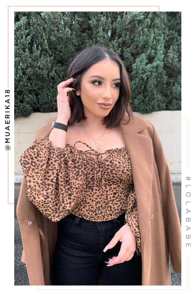 Light My Fire Top - Leopard
