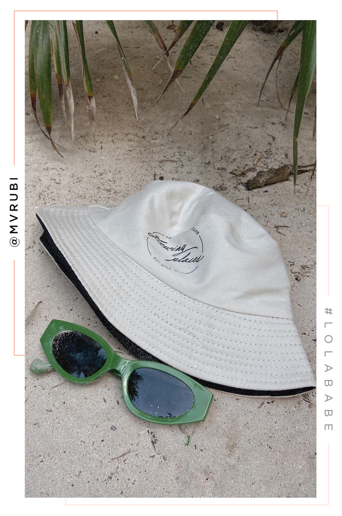 Glowing Places Bucket Hat - Nude