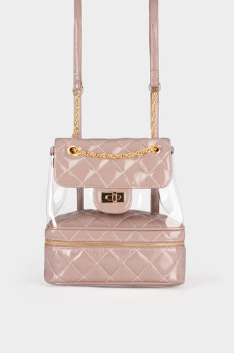 Posh Backpack - Nude