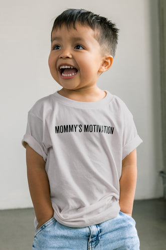 Mommy's Motivation Tee - Taupe