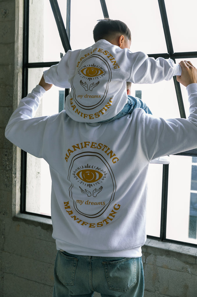 Mini Manifesting Crewneck - White