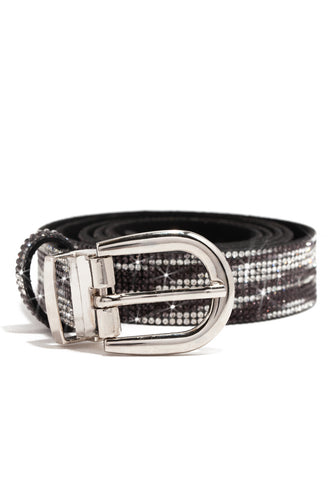 Touch Of Glam Belt - Black