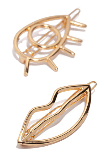 Best Features Hair Clip - Gold