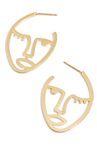 Karibelle Earring - Gold