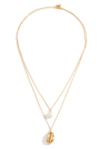 Isla Necklace - Gold