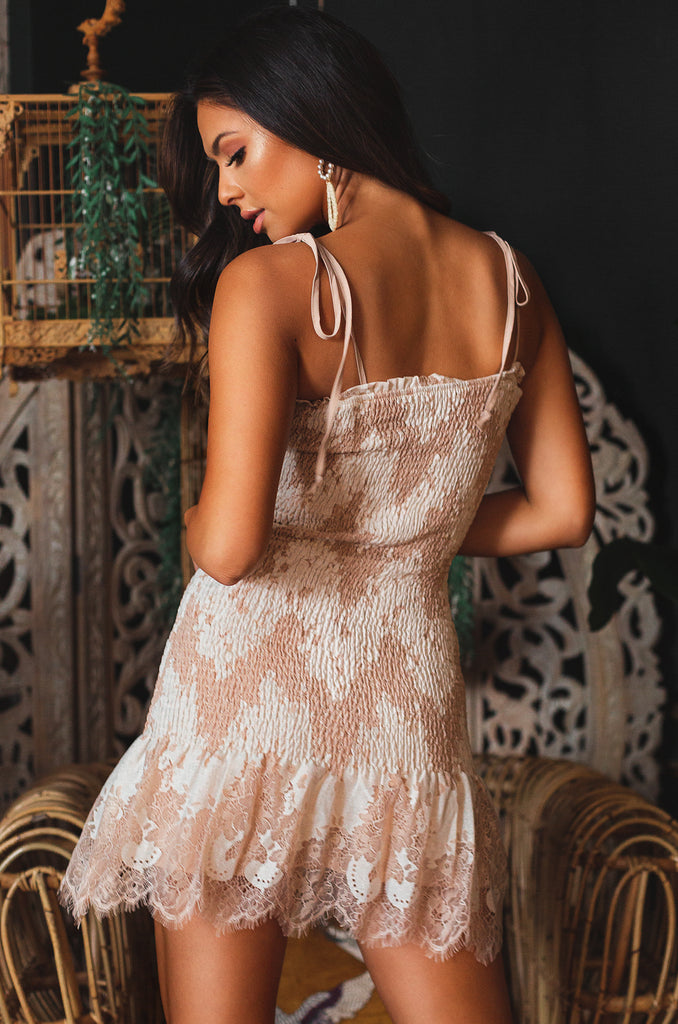 Breathtaking Dress - Nude