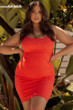 Dancing In Rio Dress - Orange