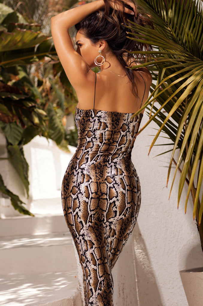 Youth Gone Wild Dress - Snake