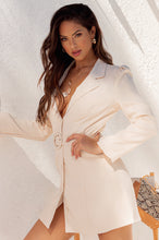 Boss Appeal Blazer Dress - Nude