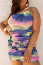 Paint The Town Dress - Multi Color