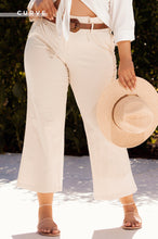 Bi-Coastal High Waist Pant - Nude