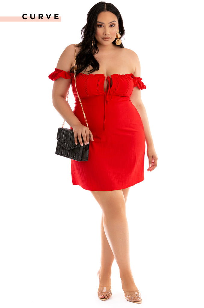 Barcelona Dress - Red