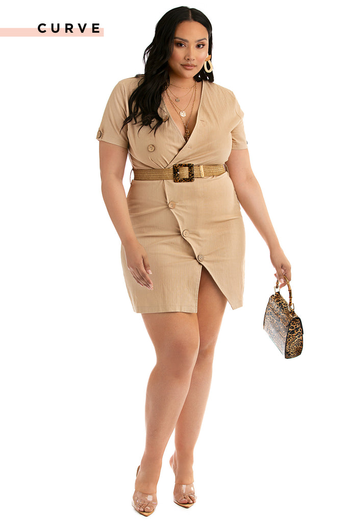 Camino Al Mar Dress - Beige