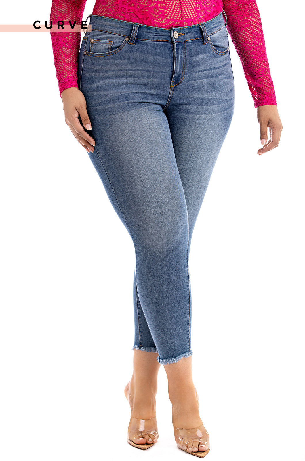 Body Talk Jeans - Light Denim