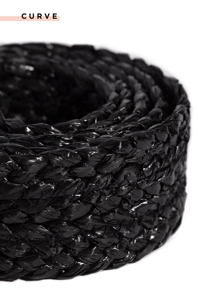 French Riviera Belt - Black
