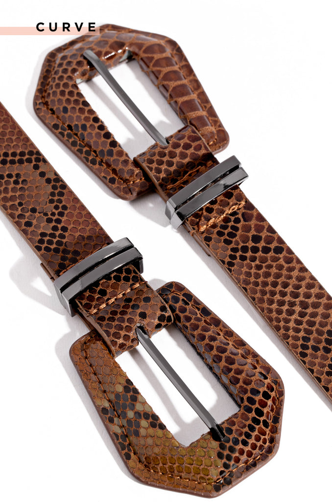 Mediterranean Views Belt - Brown Snake
