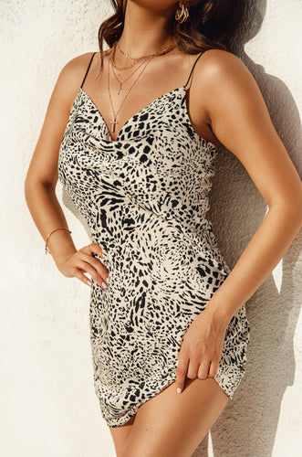 Keep Me Wild Dress - Animal Print