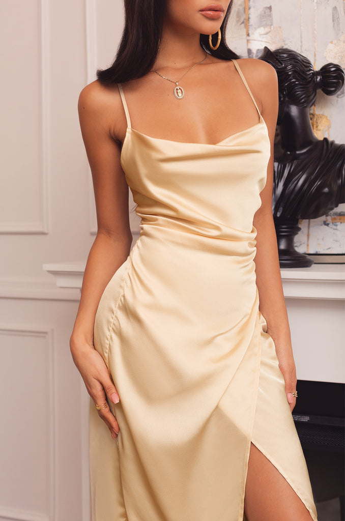 Prized Possession Dress - Champagne