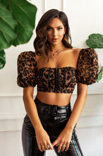 Wild Behavior Top - Leopard