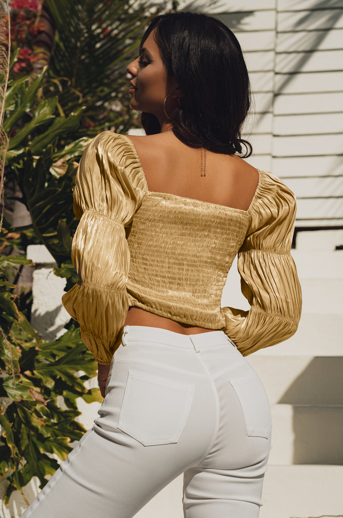Summer Glow Top - Gold