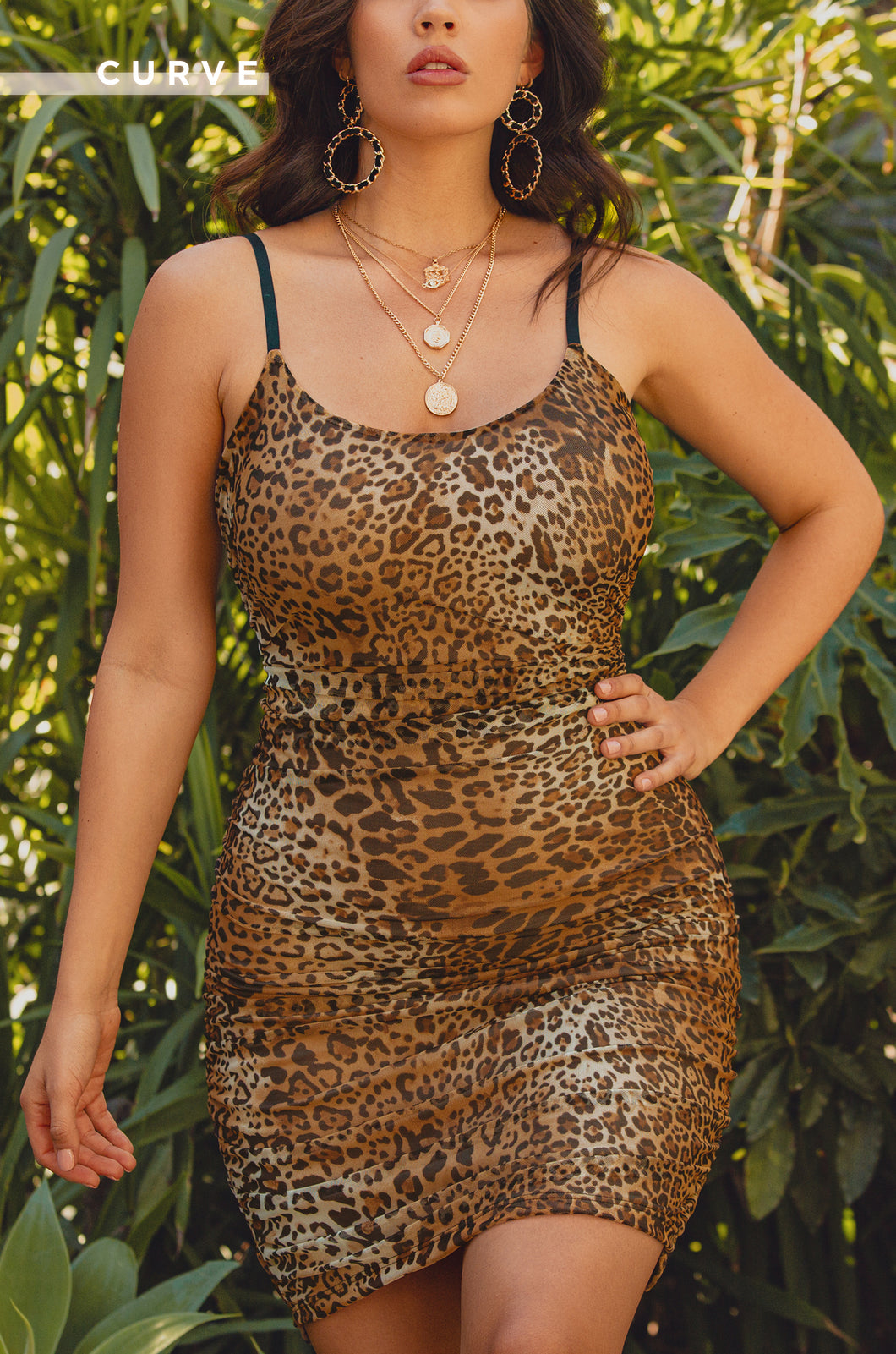 Haute Sin Dress - Leopard