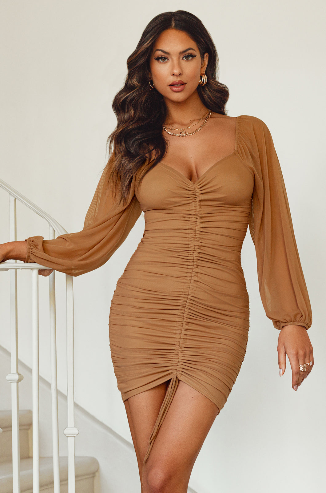 Ready For You Dress - Nude