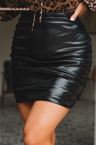 Feels So Good Skirt - Black