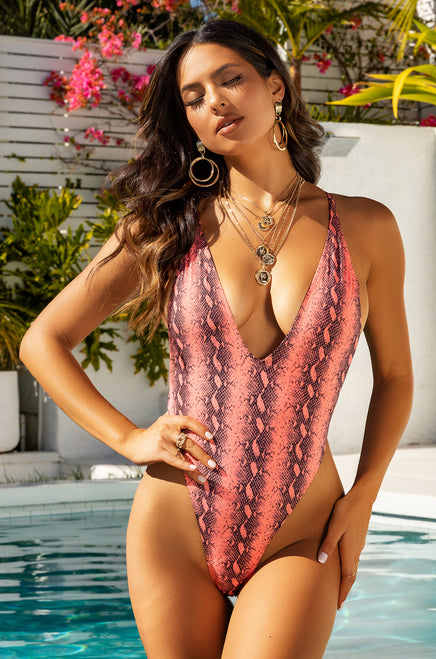 Toxic Lover Swimsuit - Snake