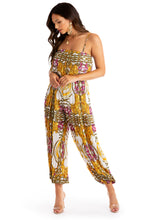 Miami Ready Jumpsuit - White Multi