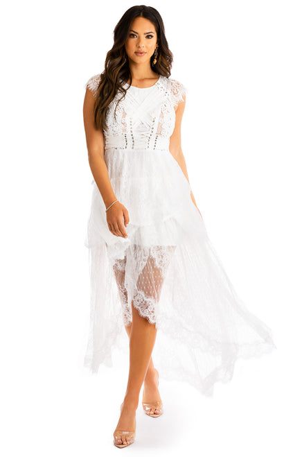 So Couture Dress - White