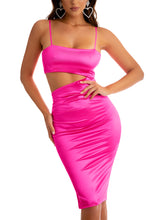 Curve You Dress - Fuchsia