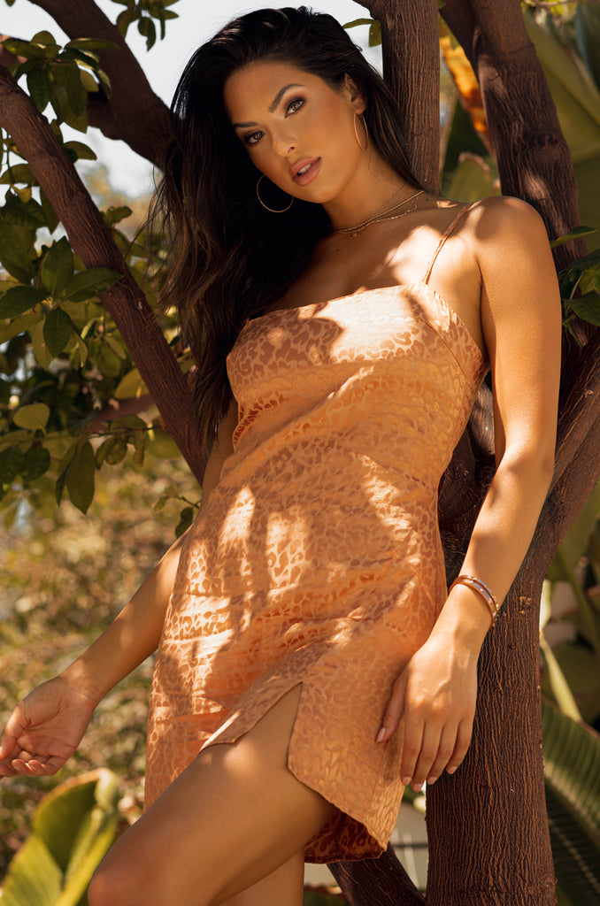 Dreaming Of You Dress - Bronze