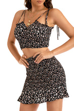 Girls Cruise Set - Black Floral