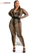 Body Addictive Dress - Snake