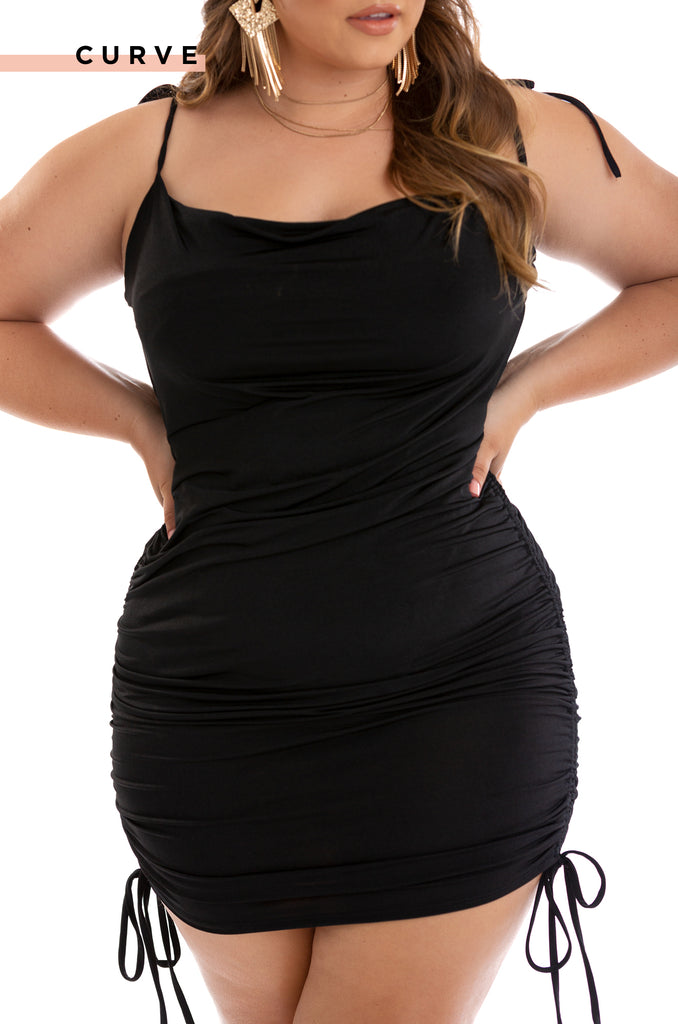 Cabana Love Dress - Black