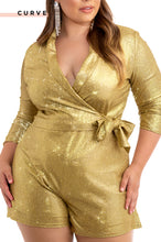 VIP View Romper - Gold