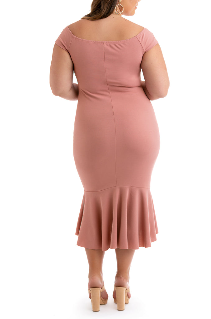Save The Date Dress - Blush