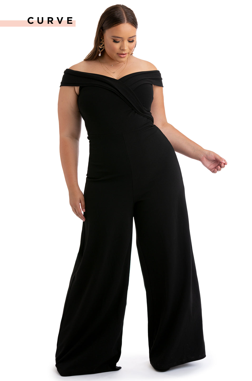 Take Me Out Jumpsuit - Black
