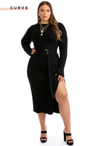 Shades Of You Dress - Black