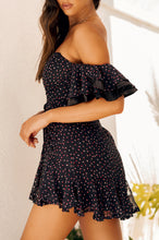 Going My Way Dress - Navy Floral
