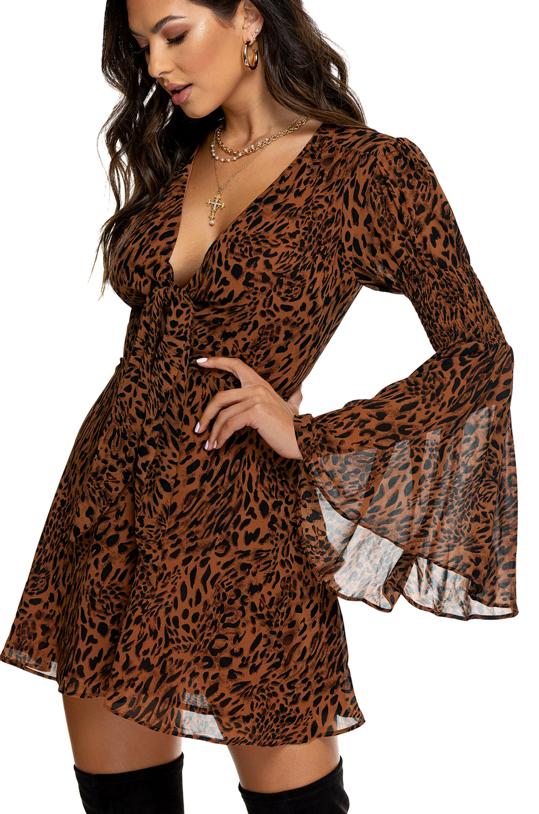 Perfect Romance Dress - Leopard