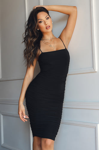 Forever Your Girl Dress - Black