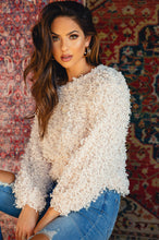 I Adore You Sweater - Nude